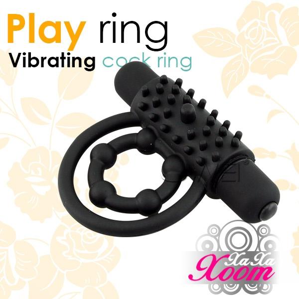 XaXaXoom.Play ring 5段變頻鎖精陰蒂激震環