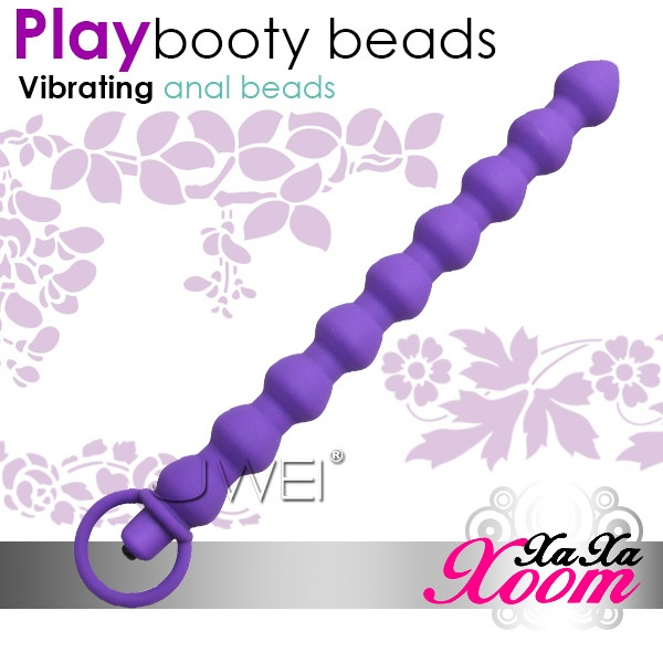 XaXaXoom.Play booty beads 5段變頻九連結後庭拉珠棒