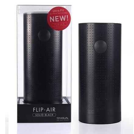 日本TENGA*第二代FLIP-AIR U.S第2代重複型真空感自慰杯(黑色緊實型)
