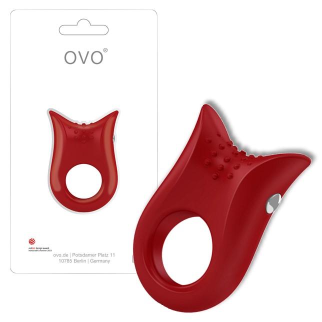 德國OVO B2前衛矽膠靜音震動環-