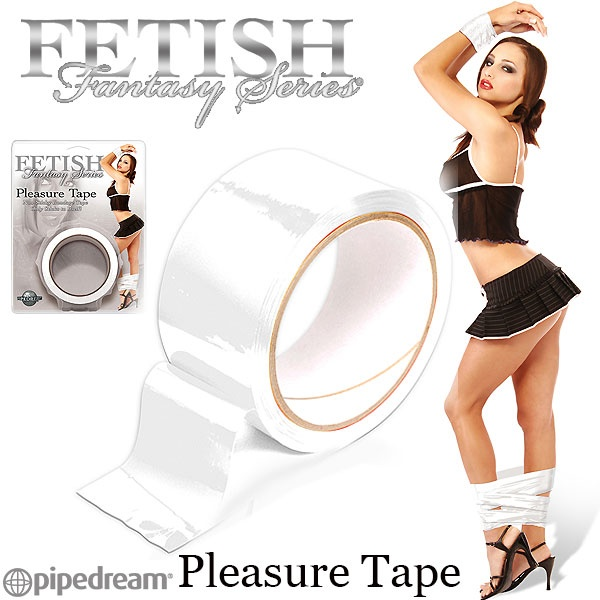 美國PIPEDREAM*Fetish Fantasy系列-Pleasure Tape SM捆綁靜電膠帶-