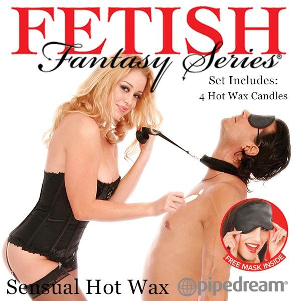 美國PIPEDREAM*Fetish Fantasy-Sensual Hot Wax – SM低溫蠟燭4入裝