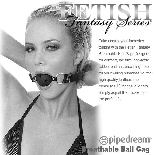 美國PIPEDREAM*Fetish Fantasy Limited Edition系列-限量版SM圓球口塞