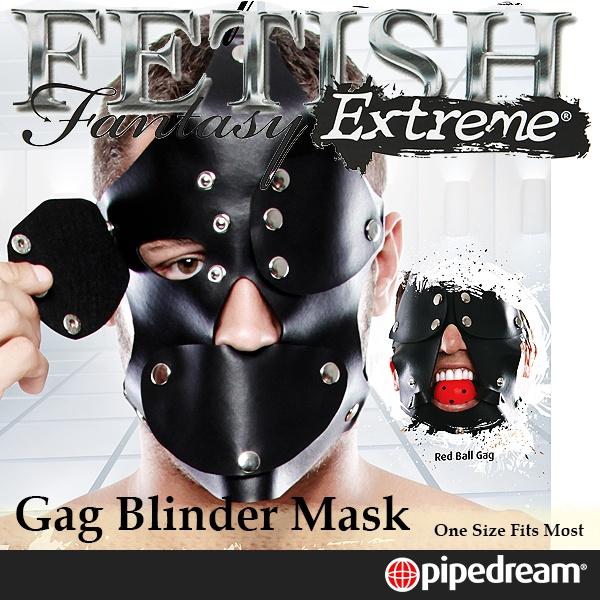 美國PIPEDREAM*Fetish Fantasy Extreme極緻系列- SM囚犯臉罩