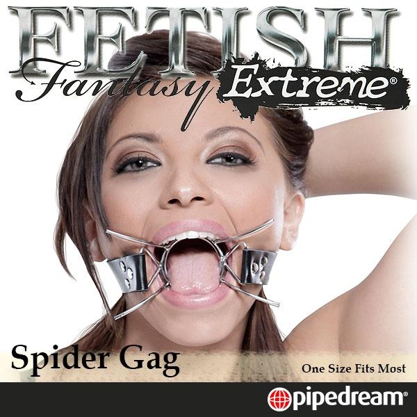 美國PIPEDREAM*Fetish Fantasy Extreme極緻系列-SM蜘蛛網型口枷