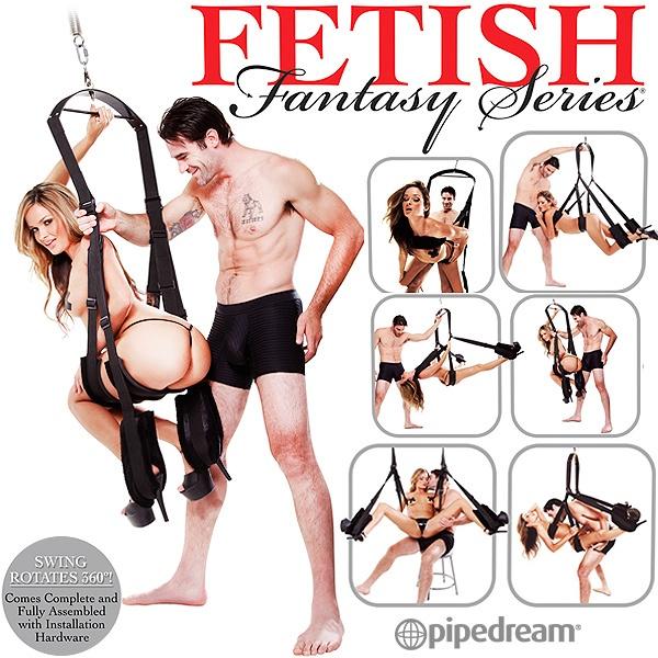 美國PIPEDREAM*Fetish Fantasy系列-360度無重力夢幻體位性愛鞦韆