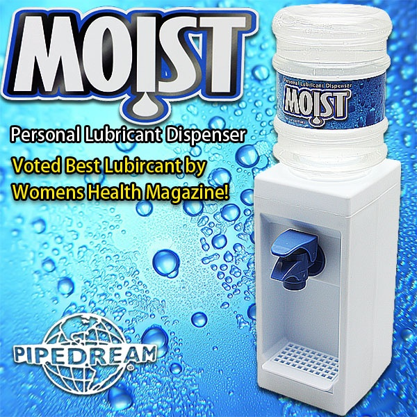 美國PIPEDREAM*Moist Lube Dispenser超可愛迷你飲水機潤滑液(612ml)