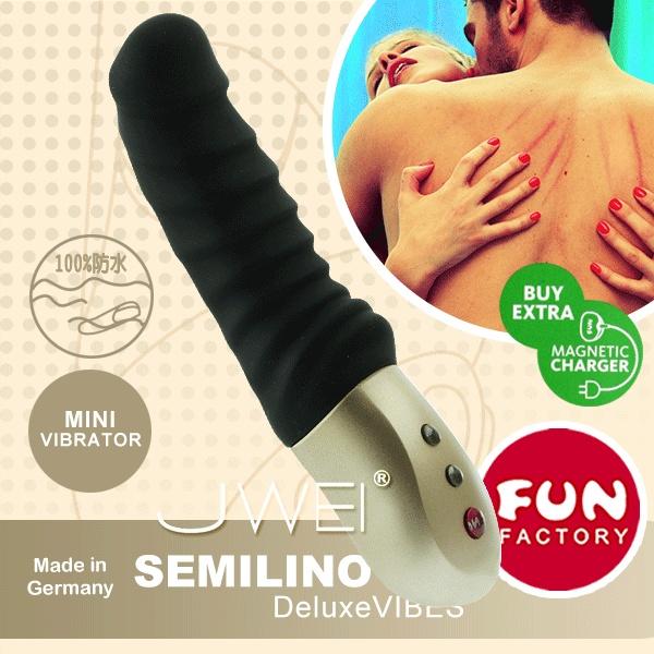德國FUN FACTORY*聖騎士雷諾-口袋寶貝按摩棒(黑)