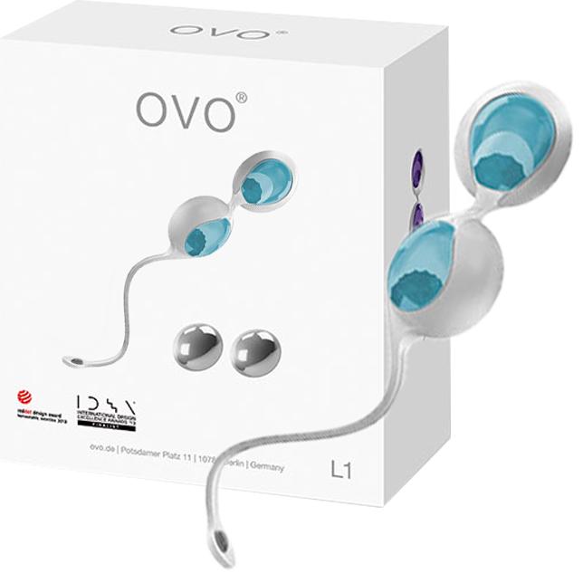 德國OVO L1矽膠靜音防水回震球(聰明球球)