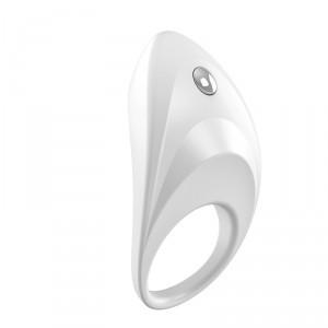 德國OVO B7前衛矽膠靜音震動環-白色