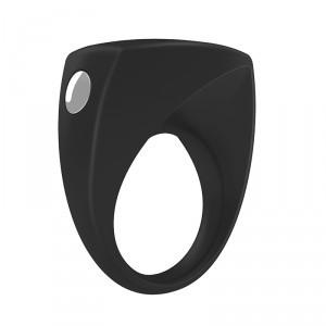 德國OVO B6前衛矽膠靜音震動環-黑色