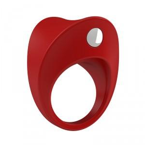 德國OVO B11前衛矽膠靜音震動環-紅色