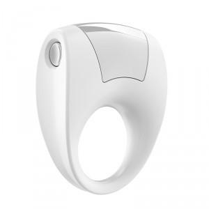 德國OVO B8前衛矽膠靜音震動環-白色