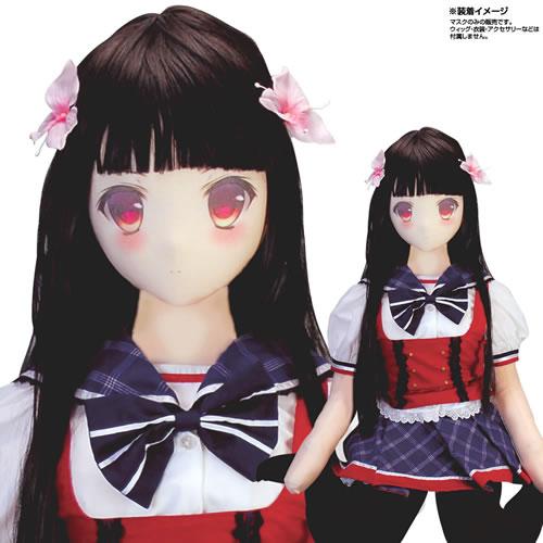 日本NPG*–★— ——!真下冬-【充氣娃娃專用面罩】