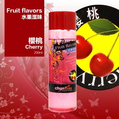 櫻花水果潤滑液200ml-櫻桃