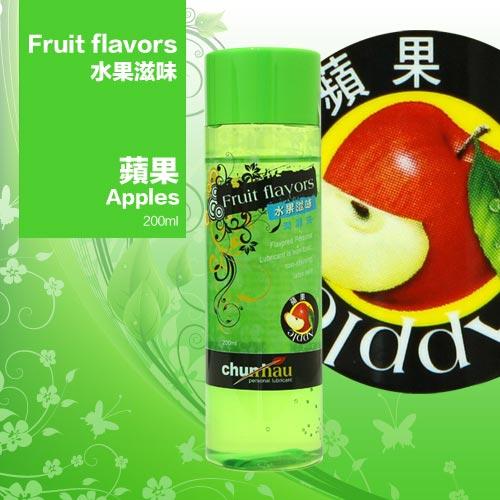 櫻花水果潤滑液200ml-蘋果