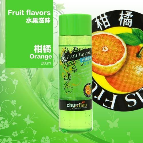 櫻花水果潤滑液200ml-柑橘