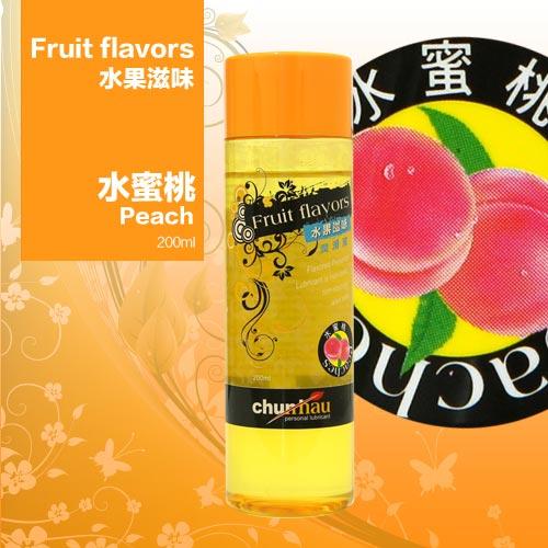 櫻花水果潤滑液200ml-水蜜