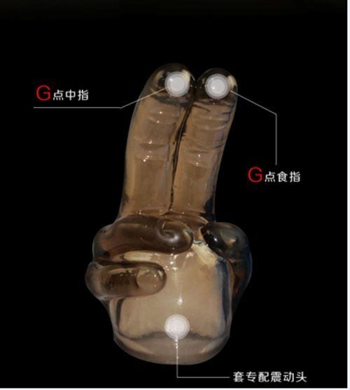 雙指萬能~AV棒專用配件【大-指】