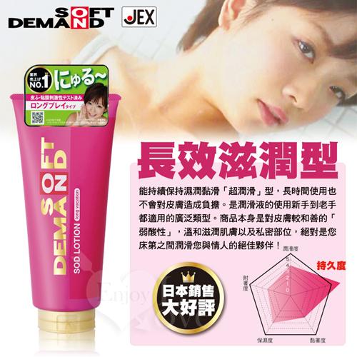 日本JEX-SOD水性潤滑液長效滋潤型 180g