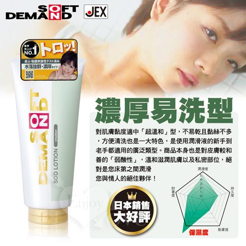 日本JEX-SOD水性潤滑液濃厚易洗型 180g