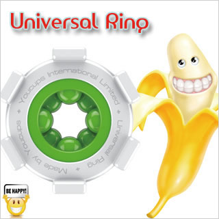 英國YouCups*UNIVERSAL RING 萬能環-綠色(迷你飛機杯 快樂環)