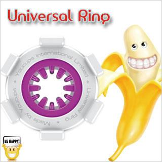 英國YouCups*UNIVERSAL RING 萬能環-紫色(迷你飛機杯 快樂環)