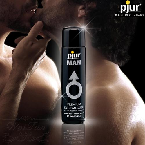 德國pjur*MAN EXTREMEGLIDE男同志專用矽性潤滑油100ml