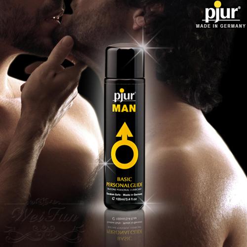 德國pjur*MAN BASIC男同志專用中性潤滑油100ml