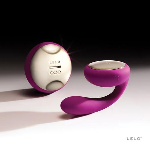 瑞典LELO*IDA Cerise伊達情侶按摩器 (遙控版)紫色