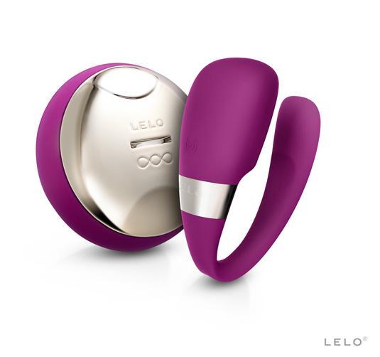 瑞典LELO*TIANI 3 deep rose US蒂阿妮 3代 設計版 遙控情侶共震按摩器-玫瑰