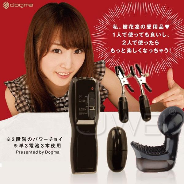 日本EXE*ORGA-D 樹花- 乳夾 G點潮吹 多功能三段變速按摩器