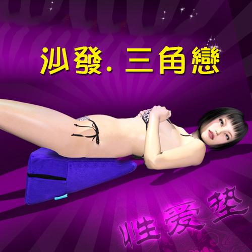 性愛家俱系列 (情趣三角愛墊) 夫妻做愛輕鬆體位輔助用品