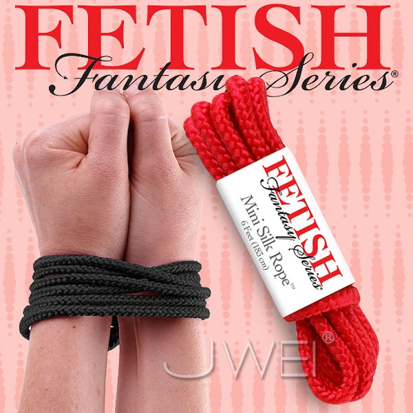 美國PIPEDREAM*Fetish Fantasy系列-SM愛的束縛繩(紅)
