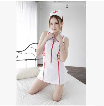 私密診療!癡漢必備 清純連身短裙護士服 – AV女優瀧澤蘿拉代言