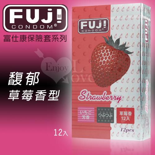 FUJICONDOM 富仕康-馥郁草莓香型保險套 12片裝