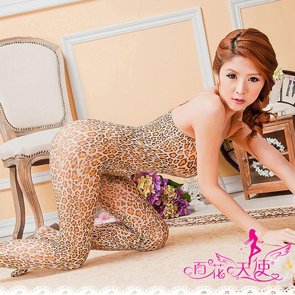 薄透系列-熱戀.豹紋連身貓