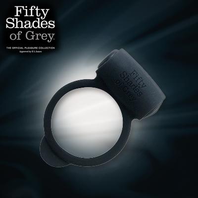 五十度灰 of Grey 你儂我儂愛之環 Yours And Mine Vibrating Silicone Love Ring