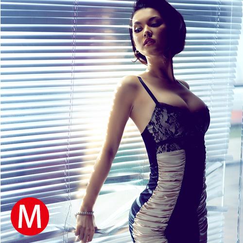 限定促銷-危險曲線!性感夜店緊身包臀短裙(M) - AV女優小澤瑪利亞代言