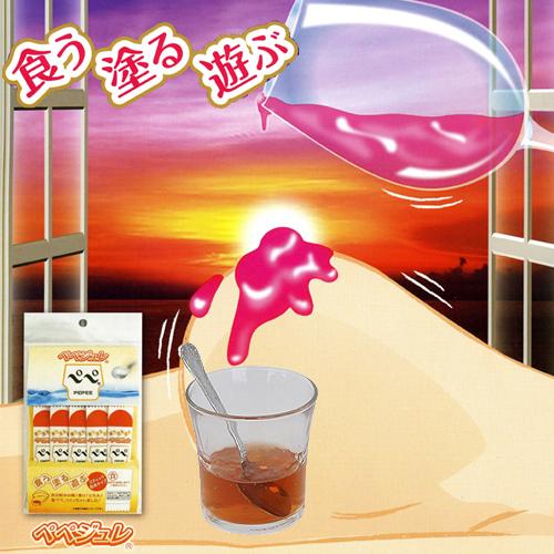 日本原裝進口.–可食用潤滑液調配粉—– (5包入)