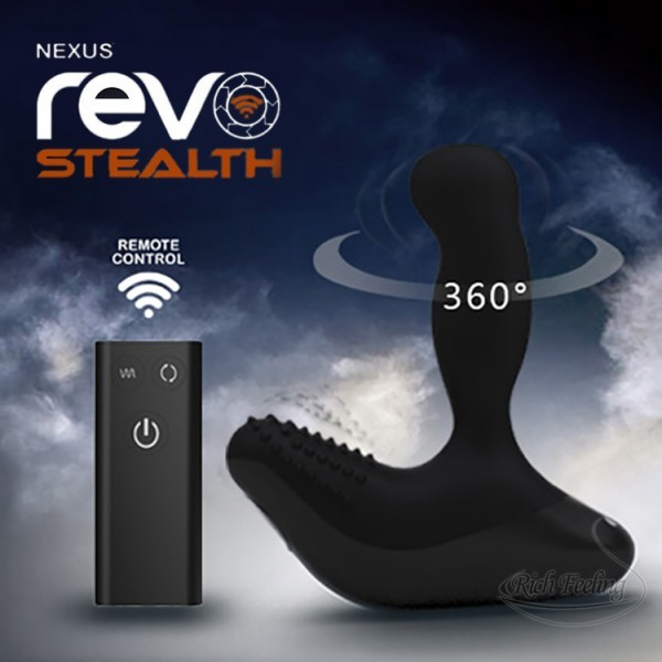 英國Nexus*Revo3 雷沃三代 7×2段變頻無線遙控 G點前列腺搖頭按摩