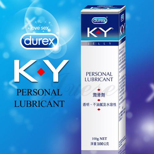 【durex杜蕾斯】 K.Y潤滑劑 100g